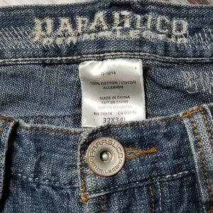 Parasuco Jeans - Parasuco Distressed Mens Jeans 32x34 Blue